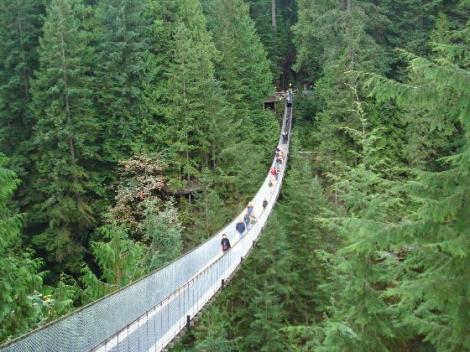 Capilano suspension bridge vancouver znzlimo